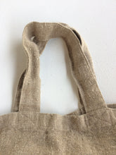 Load image into Gallery viewer, Tallows Linen Tote Bag - Natural Linen Colour