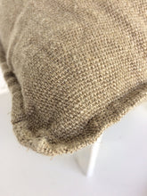 Load image into Gallery viewer, Newrybar Jute European Cushion Cover Natural Colour