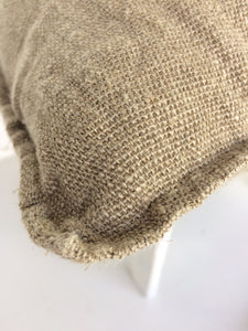 Newrybar Jute European Cushion Cover Natural Colour