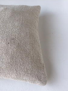 Rustic Cotton Cushion Cover Large - Sewn Edge