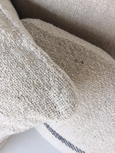 Rustic Cotton Cushion Cover Small - Sewn Edge