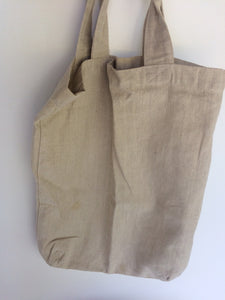 Tallows Cotton Tote Bag - Off-White Colour