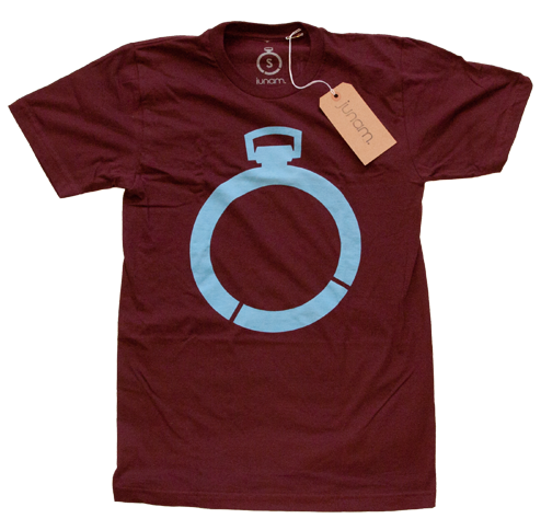 Pocket Watch Tee (Maroon)
