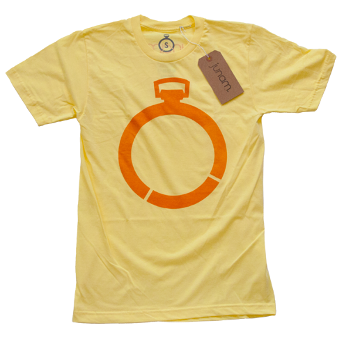 Pocket Watch Tee (Yellow)