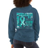 October 7 Trigeminal Neuralgia Awareness Day/SUPPORTER Unisex Hoodie