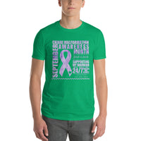 September Chiari Awareness/SUPPORTER Tie Dye Print Short-Sleeve T-Shirt