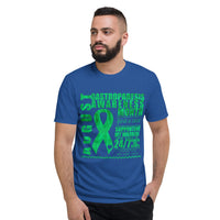 August Gastroparesis Awareness Month/SUPPORTER Tie Dye Print Short-Sleeve T-Shirt