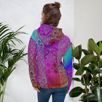 Chronic Hope Mosaic All Over Print Unisex Hoodie