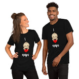 I [heart] Naps Sloth Short-Sleeve Unisex T-Shirt