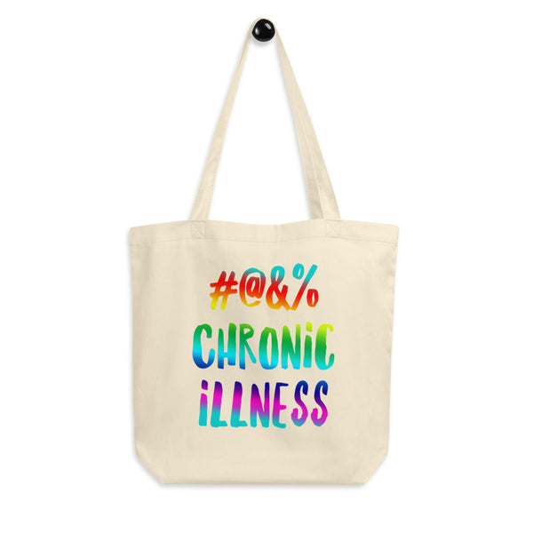 Censored Chronic Illness Eco Tote Bag