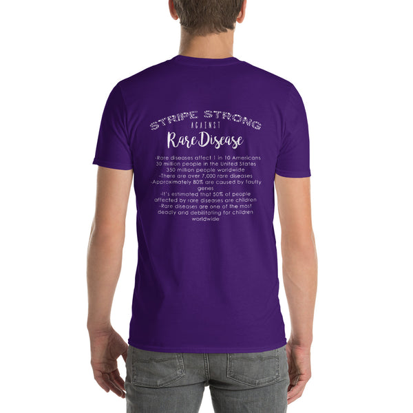 Two Sided Facts/Rare Disease Short-Sleeve T-Shirt