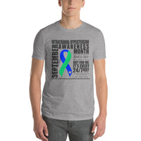 September Intracranial Hypertension Awareness Month Short-Sleeve T-Shirt