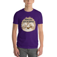 Energy Level Sloth On Sedatives Short-Sleeve T-Shirt