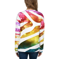 We Are Zebras All Over Print Unisex Sweatshirt