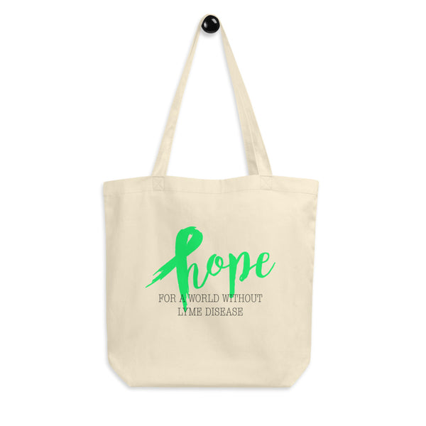Hope For A World Without Lyme Disease Eco Tote Bag