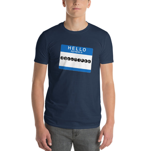 Hello My Name Is Spoonless Short-Sleeve T-Shirt
