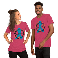 Dysautonomia SUPPORTER Circle Short-Sleeve Unisex T-Shirt