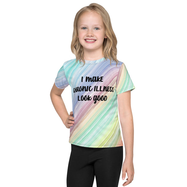 I Make Chronic Illness Look Good All Over Print Kids T-Shirt