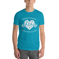 Raising Awareness One Heartbeat At A Time Short-Sleeve T-Shirt