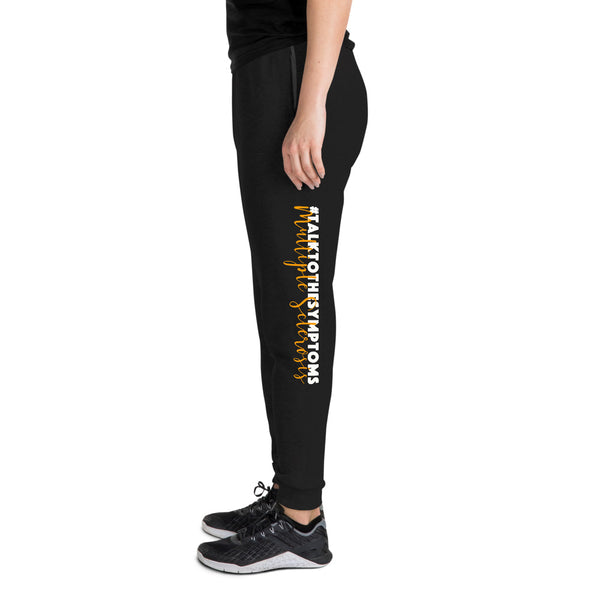 Talk To The Symptoms/Multiple Sclerosis Unisex Joggers