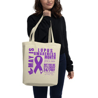 May Lupus Awareness Month/WARRIOR Eco Tote Bag