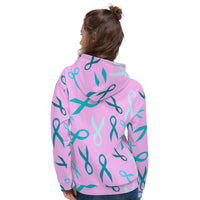 Fierce Fighter Ribbons All Over Print Unisex Hoodie