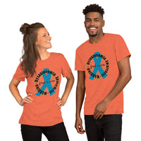 Dysautonomia WARRIOR Circle Short-Sleeve Unisex T-Shirt