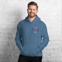 May Lupus Awareness Month/SUPPORTER Marble Print Unisex Hoodie