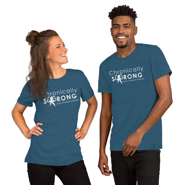 Chronically Strong Against Trigeminal Neuralgia Short-Sleeve Unisex T-Shirt