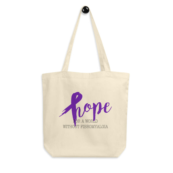 Hope For A World Without Fibromyalgia Eco Tote Bag