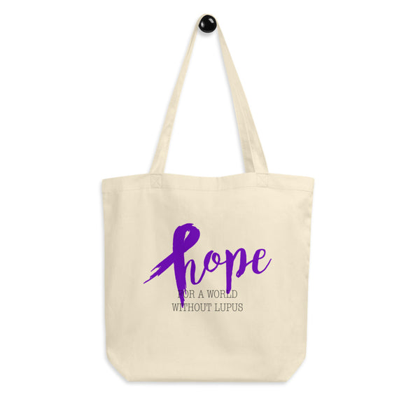 Hope For A World Without Lupus Eco Tote Bag