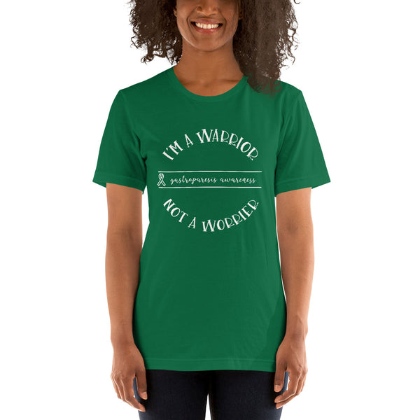 Gastroparesis Warrior Not Worrier Short-Sleeve Unisex T-Shirt