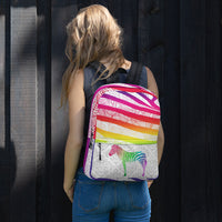 Zebra Zentangles Backpack