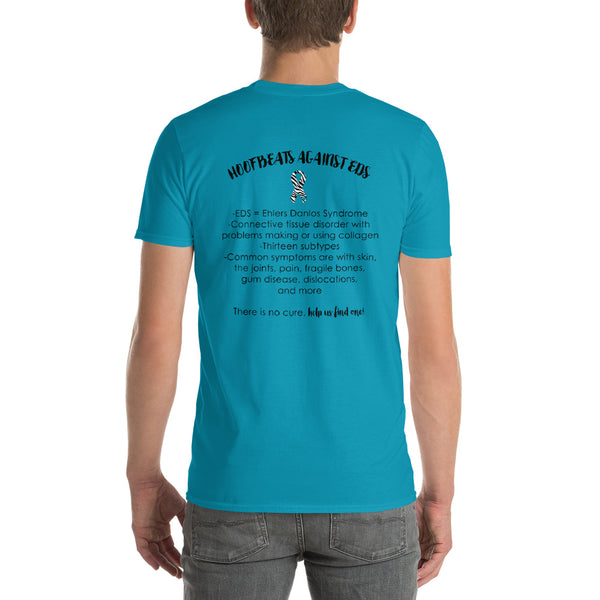 Two Sided Facts/May Ehlers Danlos Awareness Month Short-Sleeve T-Shirt