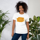 Christmas Cure Splat/Orange Short-Sleeve Unisex T-Shirt