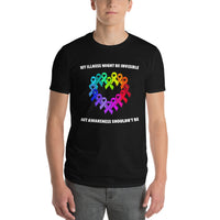 Awareness Shouldn't Be Invisible Short-Sleeve T-Shirt