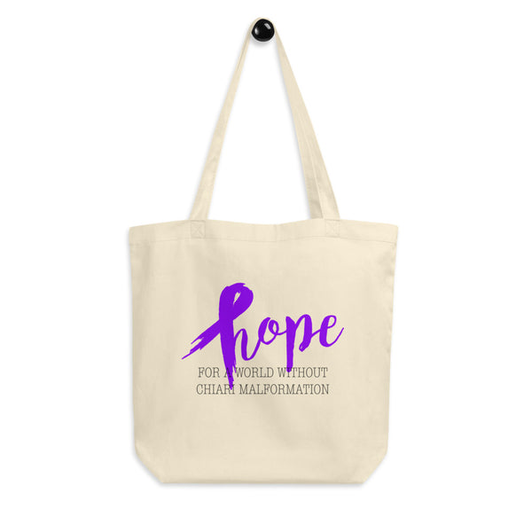 Hope For A World Without Chiari Malformation Eco Tote Bag