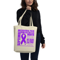 September Chiari Awareness/WARRIOR Eco Tote Bag