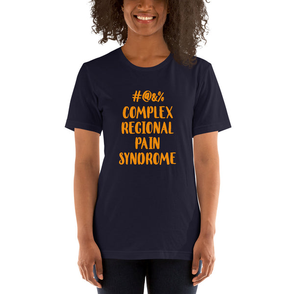 Censored Complex Regional Pain Syndrome Short-Sleeve Unisex T-Shirt
