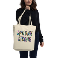 Spoonie Strong Spoons Eco Tote Bag