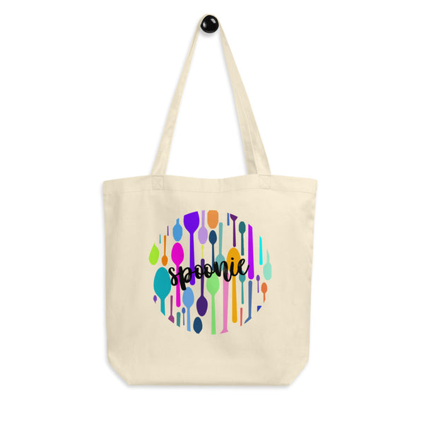 Spoonie Circle Eco Tote Bag