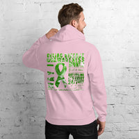 May Celiac Disease Awareness/WARRIOR Marble Print Unisex Hoodie
