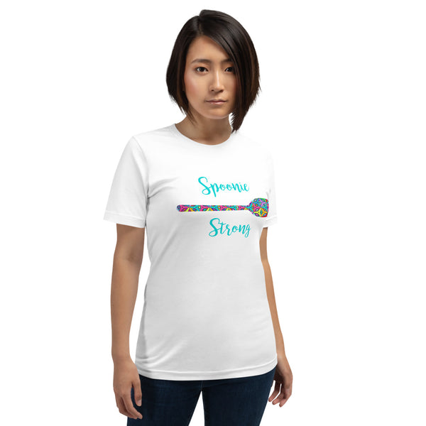 Colored In Spoonie Strong Short-Sleeve Unisex T-Shirt