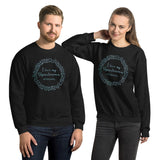 I Love My Dysautonomia Warrior Wreath Unisex Sweatshirt
