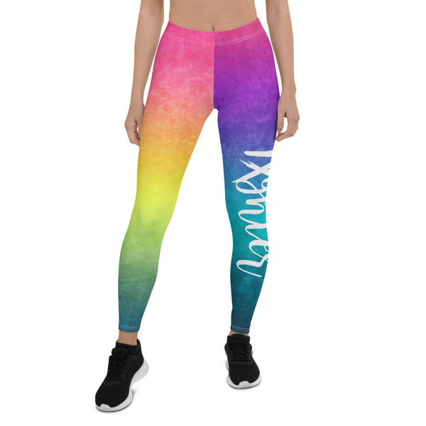 Rainbow Fighter Leggings