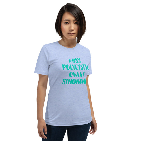 Censored Polycystic Ovary Syndrome Short-Sleeve Unisex T-Shirt