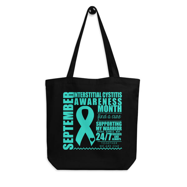September Interstitial Cystitis Awareness/SUPPORTER Eco Tote Bag