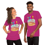 Birthday Spoonie Cake Short-Sleeve Unisex T-Shirt