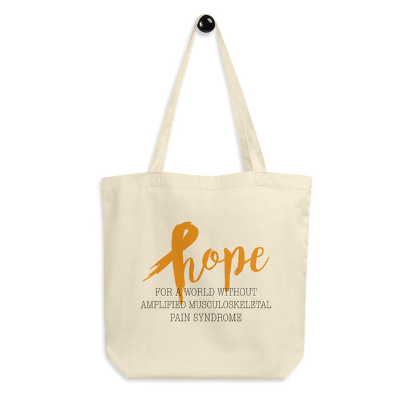 Hope For A World Without Amplified Musculoskeletal Pain Syndrome Eco Tote Bag