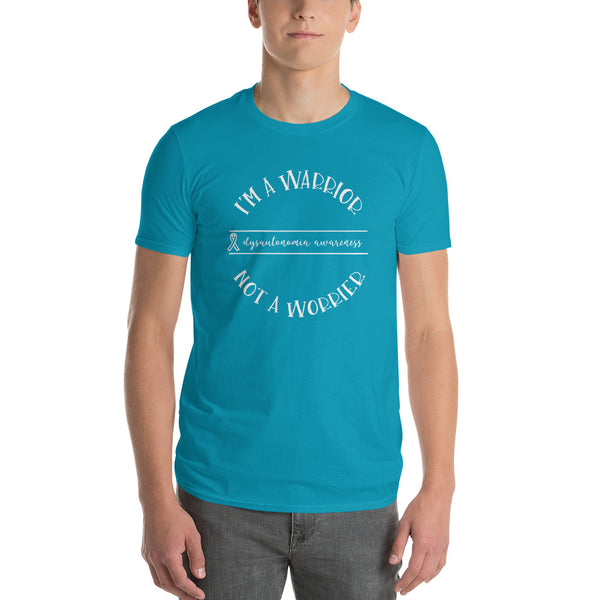 Dysautonomia Warrior Not Worrier Short-Sleeve T-Shirt